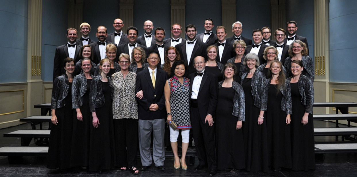 China photo with Ensemble Singers