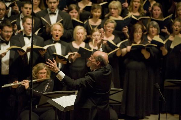 Philip Brunelle conducting