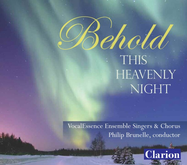 CD Cover: Behold This Heavenly Night