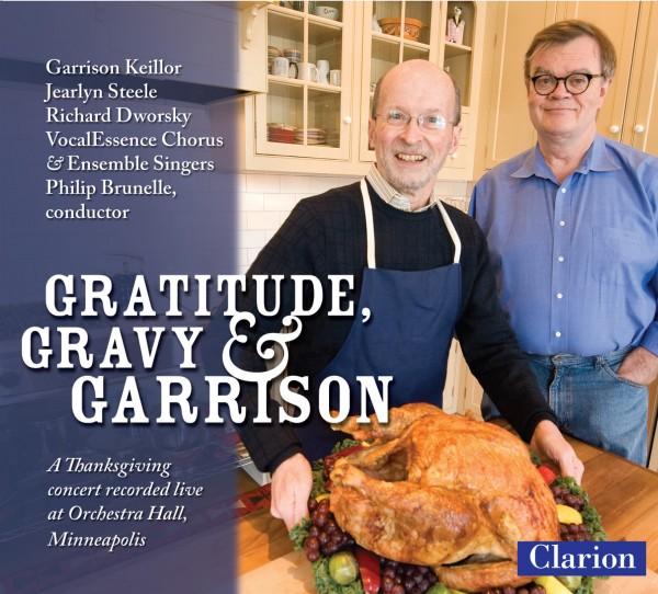 CD Cover: Gratitude, Gravy & Garrison