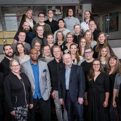 VocalEssence Ensemble Singers 2019-2020, Photo Credit: Bruce Silcox