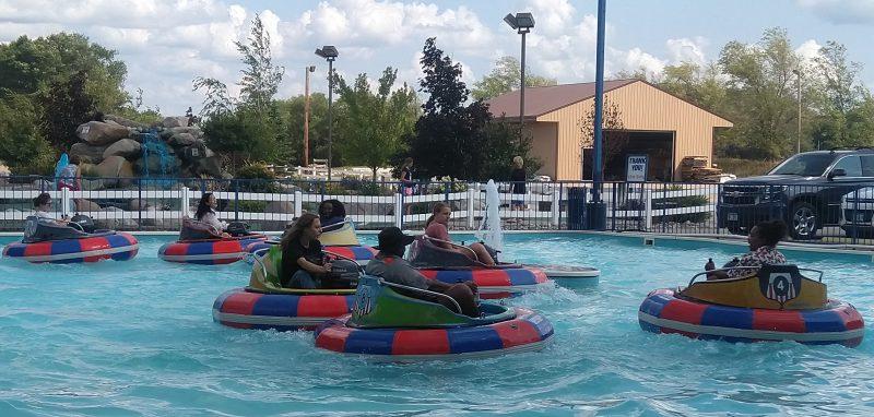 Members of VESOTA Bumper Boating