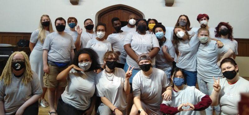 Members of VESOTA at Choosing Love Creators Camp